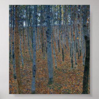 Beech Grove I by Gustav Klimt Poster