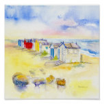 Beech Huts Posters