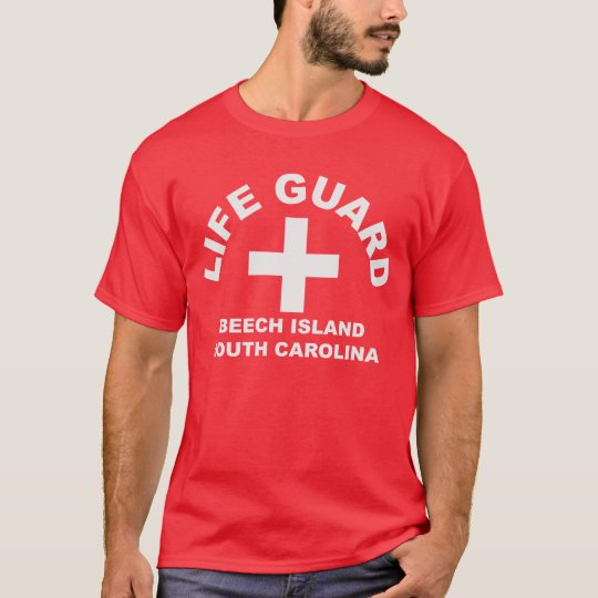 Beech Island_South Carolina_Life Guard T-Shirt