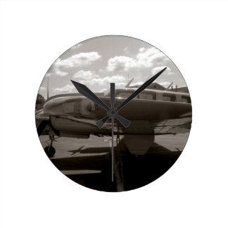 Beech King Air Medium Wall Clock