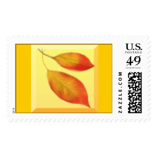 Beech Leaves Stamp