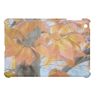 Beech Tree In The Winter Woods iPad Mini Cover