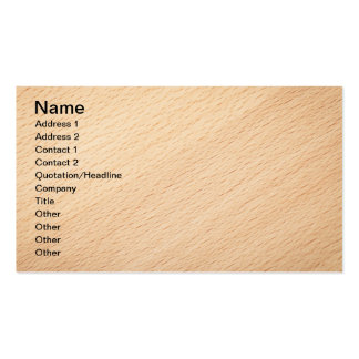 Beech Wood Texture For Background 2 Business Card