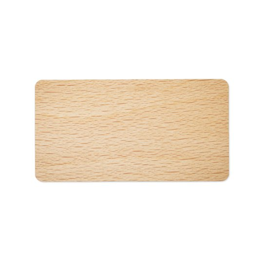 Beech Wood Texture For Background Label