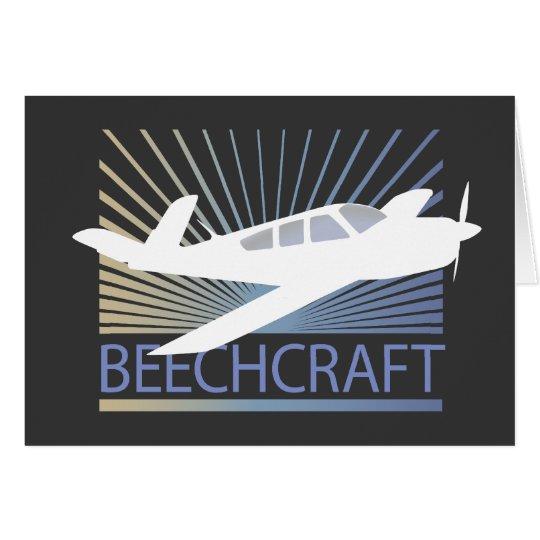 Beechcraft Aircraft Card