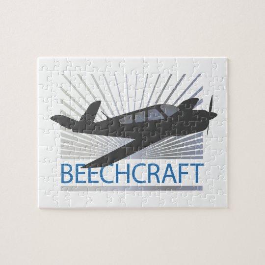 Beechcraft Aircraft Jigsaw Puzzle