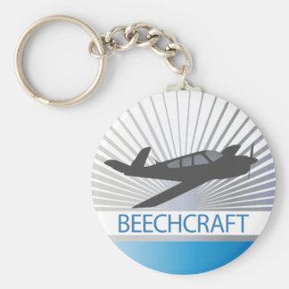 Beechcraft Aircraft Keychain