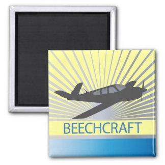 Beechcraft Aircraft Magnet