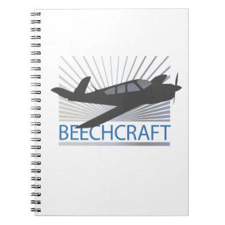 Beechcraft Aircraft Notebook