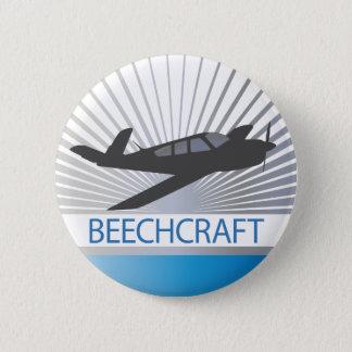 Beechcraft Aircraft Pinback Button