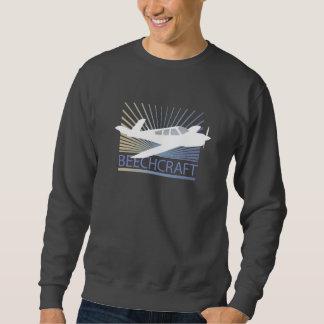 Beechcraft Aircraft Pull Over Sweatshirts