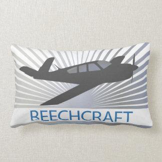 Beechcraft Aircraft Throw Pillows