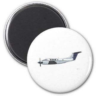 Beechcraft C-12 Huron 2 Inch Round Magnet