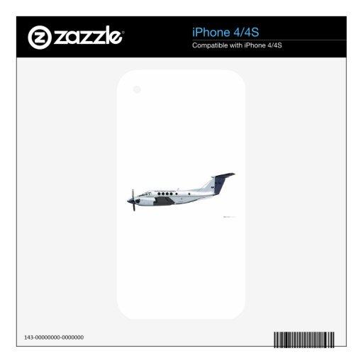 Beechcraft C-12 Huron iPhone 4 Skin
