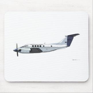 Beechcraft C-12 Huron Mouse Pad
