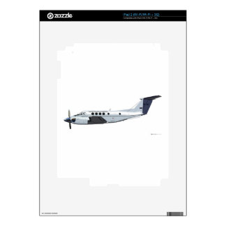 Beechcraft C-12 Huron Skins For The iPad 2