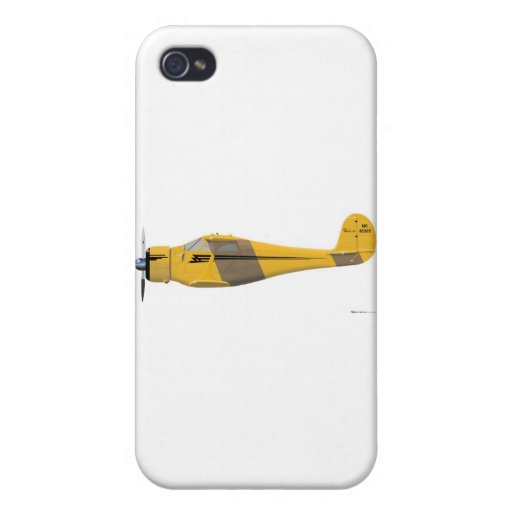 Beechcraft D-17 Staggerwing iPhone 4 Protector