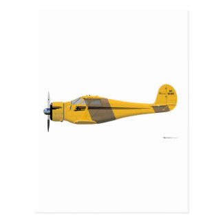 Beechcraft D-17 Staggerwing Post Cards