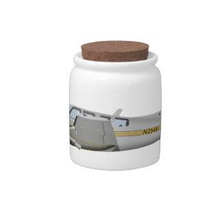 Beechcraft J50 Twin Bonanza 452452 Candy Jar