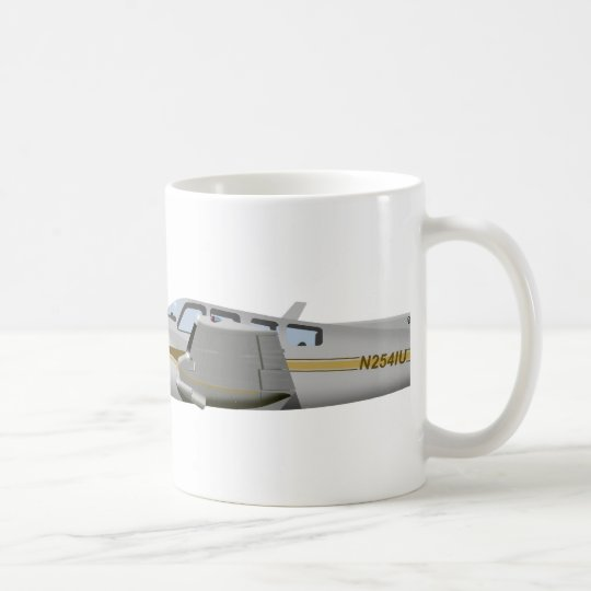 Beechcraft J50 Twin Bonanza 452452 Coffee Mug