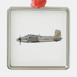Beechcraft J50 Twin Bonanza 452452 Metal Ornament