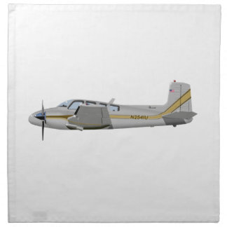 Beechcraft J50 Twin Bonanza 452452 Printed Napkin