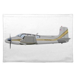 Beechcraft J50 Twin Bonanza 452452 Place Mats