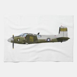 Beechcraft L-23 U-8 Seminole 456456 Hand Towels