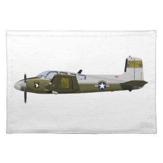 Beechcraft L-23 U-8 Seminole 456456 Place Mat
