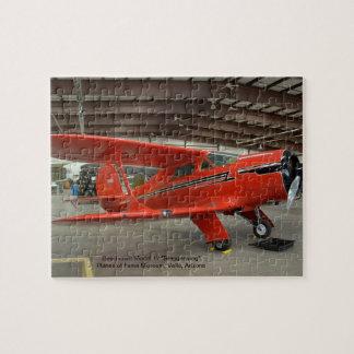 "Beechcraft Model 17 ""Staggerwing"" - Jigsaw Puzzle"