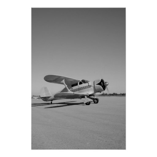 Beechcraft Model 17 Staggerwing Poster
