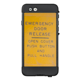 Beechcraft Model 18 Emergency Door Release Design LifeProof NÜÜD iPhone 6 Case