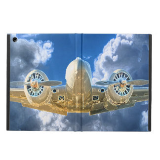 Beechcraft Model 18 Flying High Design Cover For iPad Air
