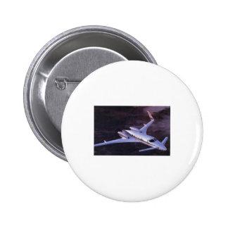 Beechcraft Starcraft 2 Inch Round Button