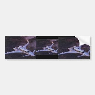 Beechcraft Starcraft Car Bumper Sticker
