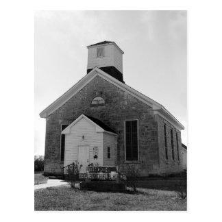 Beecher Bible and Rifle Church, Kansas Postcard