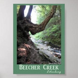 Beecher Creek Edinburg Poster