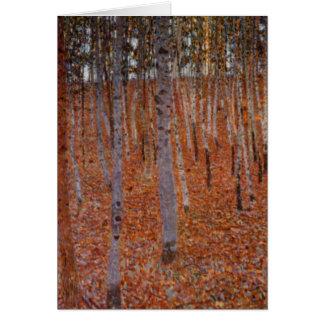 Beechwood-Bosque de Klimt Tarjeta De Felicitación