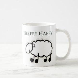 Beeeee Happy Coffee Mug