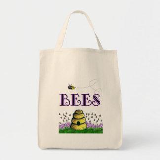 BEEEEEs Tote Bags