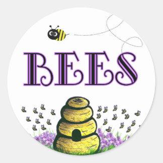 BEEEEEs Classic Round Sticker