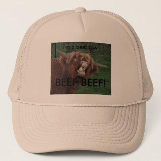 BEEF BEEF! TRUCKER HAT