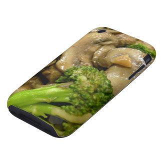 Beef, broccoli & mushroom stir fry iPhone 3 tough case