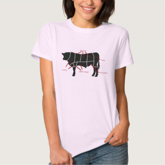 Beef Butcher Chart - Tasty Delicious Yummy Beef! T Shirt