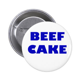 Beef Cake Pinback Buttons
