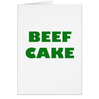 Beef Cake Card