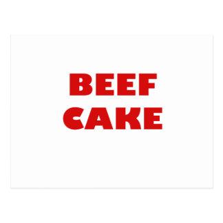 Beef Cake Postcard