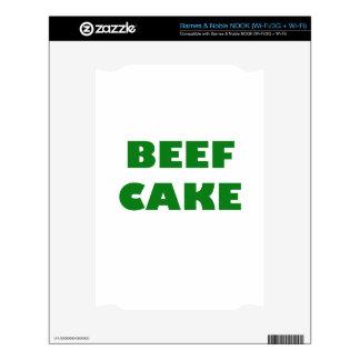 Beef Cake NOOK Decal