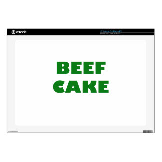 "Beef Cake 17"" Laptop Decal"