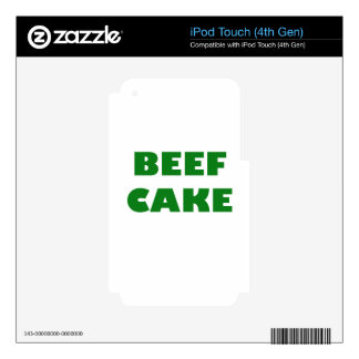 Beef Cake iPod Touch 4G Decals